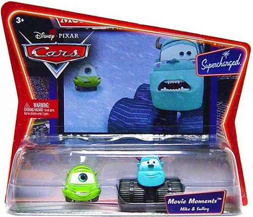 Disney / Pixar Cars Supercharged Movie Moments Mike & Sulley Diecast Car 2-Pack