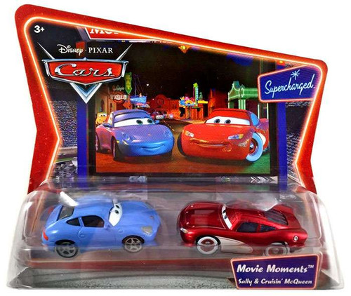 Disney / Pixar Cars Supercharged Movie Moments Sally & Cruisin' McQueen Diecast Car 2-Pack