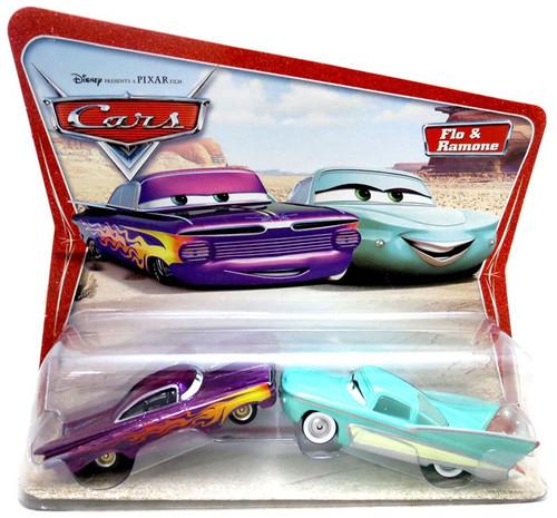 Disney / Pixar Cars Series 1 Flo & Ramone Diecast Car 2-Pack