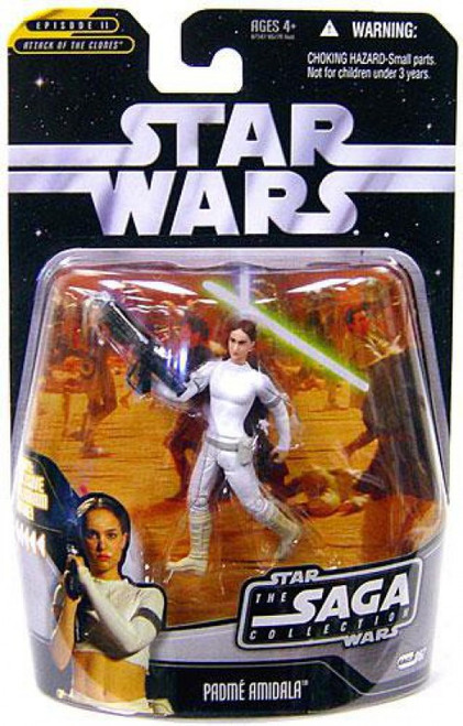 Star Wars Attack of the Clones 2006 Saga Collection Padme Amidala Action Figure #67