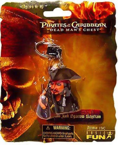 Pirates of the Caribbean Dead Man's Chest Captain Jack Sparrow Keychain