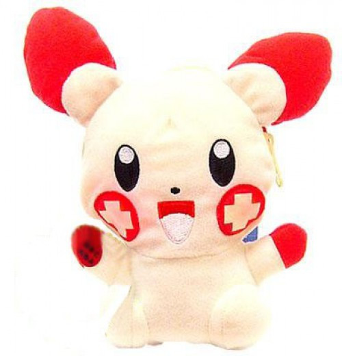 Pokemon 5 Inch Plusle Plush [Light Up Pouch]
