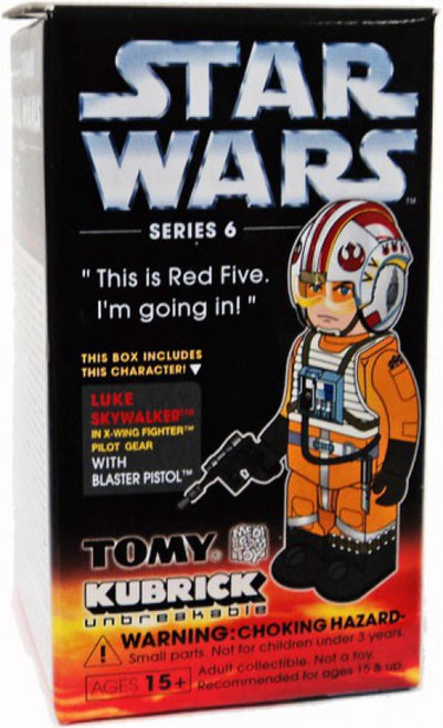 Star Wars A New Hope Kubrick Series 6 Luke Skywalker Mini Figure [X-Wing Pilot]