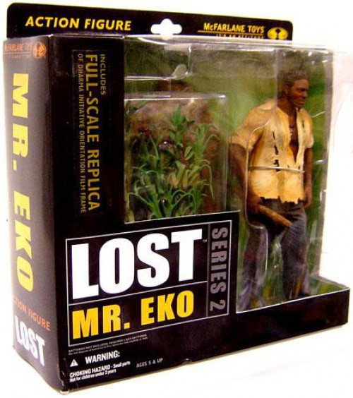 McFarlane Toys Lost Series 2 Mr Eko Action Figure
