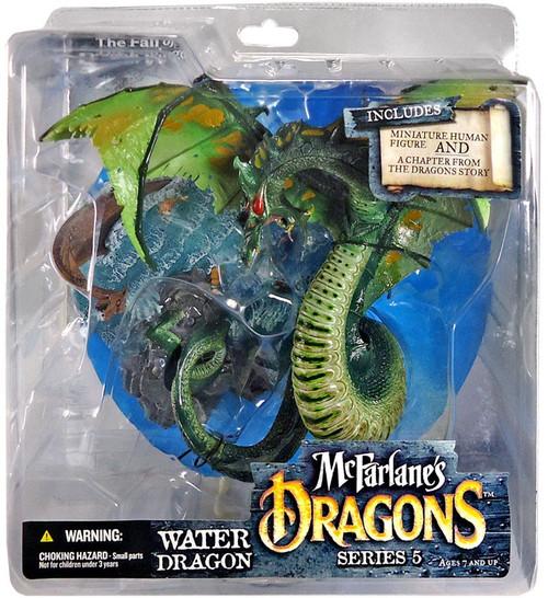 McFarlane Toys Dragons Series 5 Water Dragon Clan 5 Action Figure