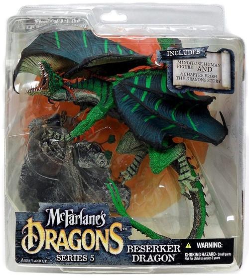 McFarlane Toys Dragons Series 5 Berserker Dragon Clan 5 Action Figure
