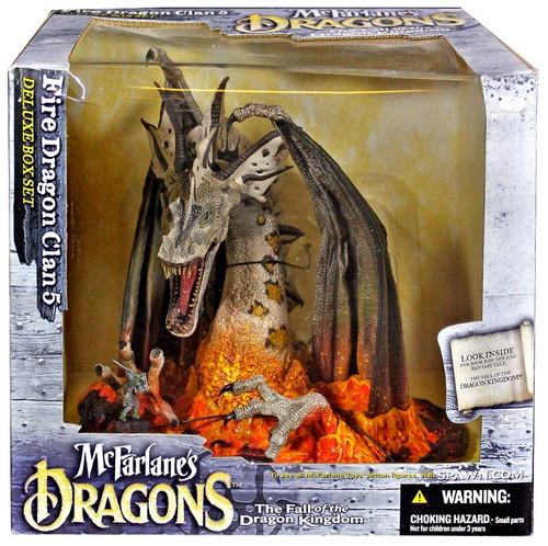 McFarlane Toys Dragons Series 5 Fire Dragon Clan 5 Action Figure