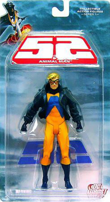 DC 52 Series 1 Animal Man Action Figure