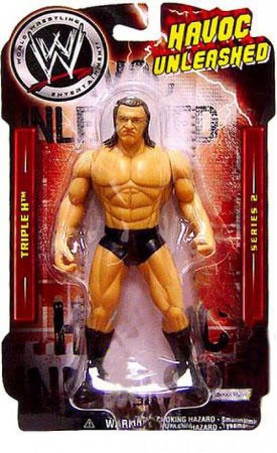 WWE Wrestling Havoc Unleashed Series 2 Triple H Action Figure