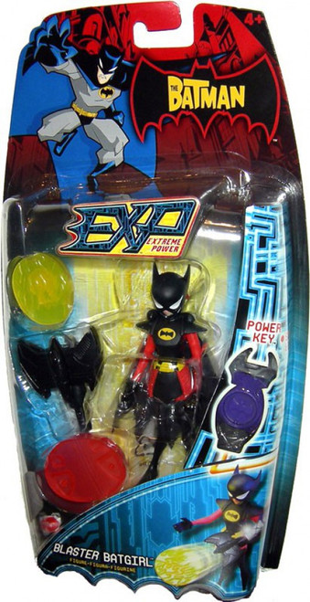 The Batman EXP Extreme Power Batgirl Action Figure [Blaster]