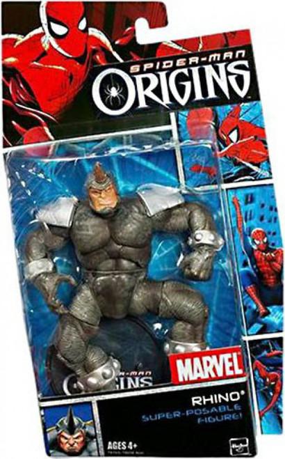 Spider-Man Origins Villains Series 1 Rhino Action Figure