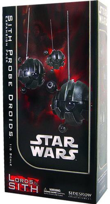 Star Wars Phantom Menace Lords of the Sith Sixth Scale Sith Probe Droids Expansion Pack Deluxe Action Figure