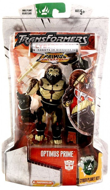 Transformers Beast Wars Primus Unleashed Optimus Prime Action Figure