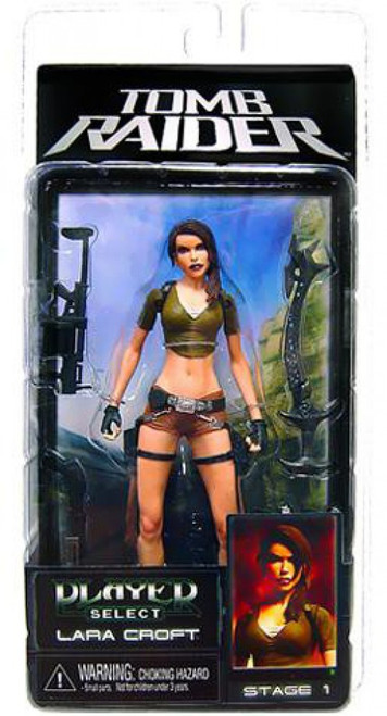 NECA Tomb Raider Player Select Series 1 Lara Croft Action Figure