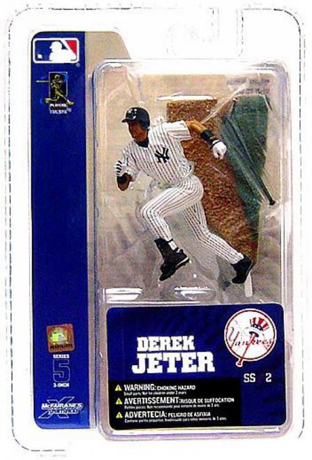 McFarlane Toys MLB New York Yankees Sports Picks 3 Inch Mini Series 5 Derek Jeter Mini Figure