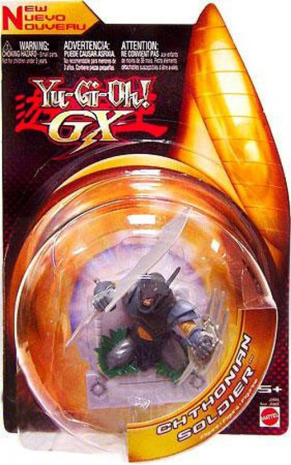 YuGiOh GX Trading Card Game 3-Inch Figures Chthonian Soldier Action Figure