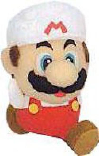 Super Mario Mario 3-Inch Plush Keychain [Fire]