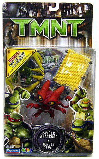 Teenage Mutant Ninja Turtles TMNT Spider Aracknor & Jersey Devil Action Figure 2-Pack