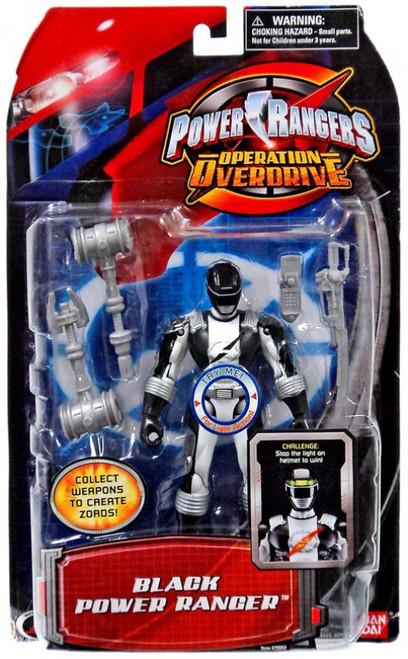 Power Rangers Operation Overdrive Black Power Ranger Action Figure