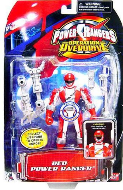 Power Rangers Operation Overdrive Red Power Ranger Action Figure