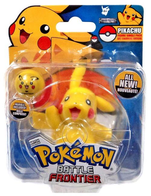 Pokemon Battle Frontier Series 1 Pikachu Figure [Version 2]