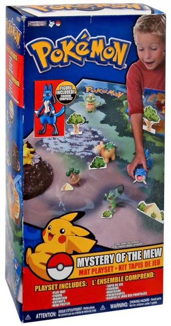 Pokemon Mystery of the Mew Playset