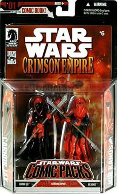 Star Wars Expanded Universe 2006 Comic Pack Carnor Jax & Kir Kanos Exclusive Action Figure 2-Pack [With Dark Visors]