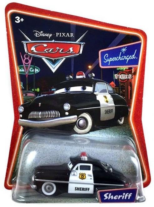 Disney / Pixar Cars Supercharged Sheriff Diecast Car