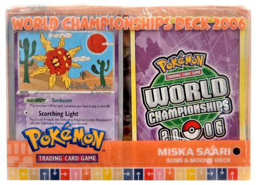 Pokemon Trading Card Game World Championships Deck 2006 Miska Saara's Suns & Moons Deck