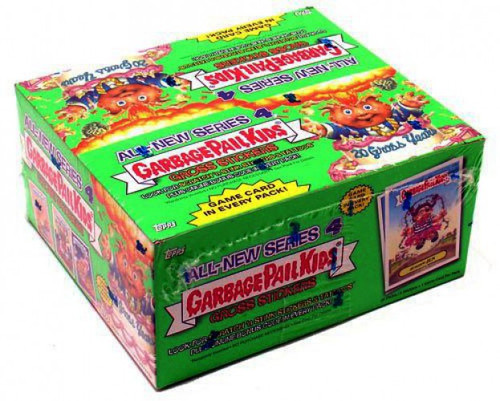 Garbage Pail Kids Topps All-New Series 4 Trading Card Sticker Box
