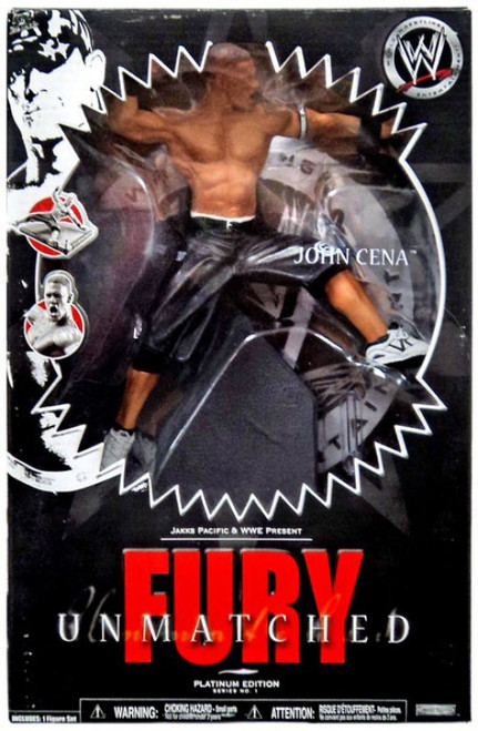 WWE Wrestling Unmatched Fury Series 1 John Cena Action Figure