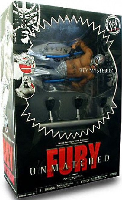 ECW Wrestling Unmatched Fury Series 1 Rey Mysterio Action Figure