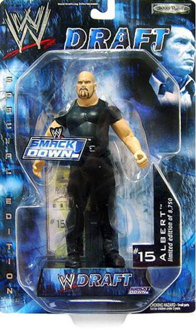 WWE Wrestling Smackdown Draft Albert Action Figure #15