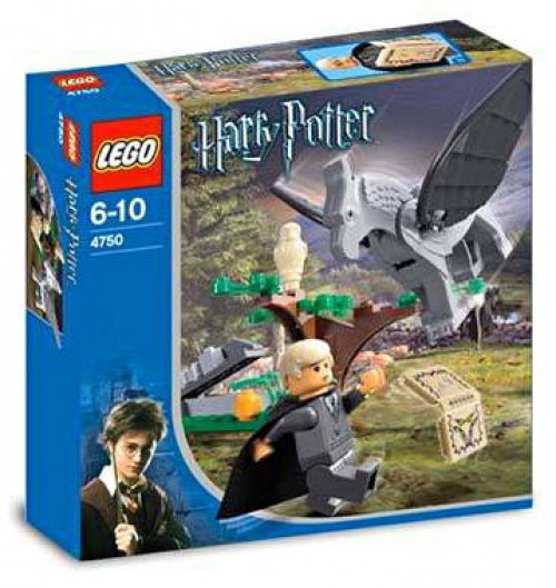 LEGO Harry Potter Prisoner of Azkaban Draco's Encounter With Buckbeak Set #4750