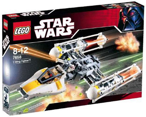 LEGO Star Wars A New Hope Y-Wing Fighter Set #7658