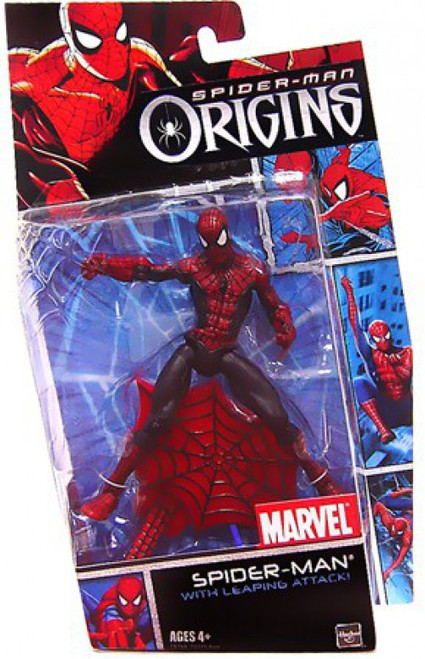 Spider-Man Origins Spider-Man Action Figure [with Leaping Attack]