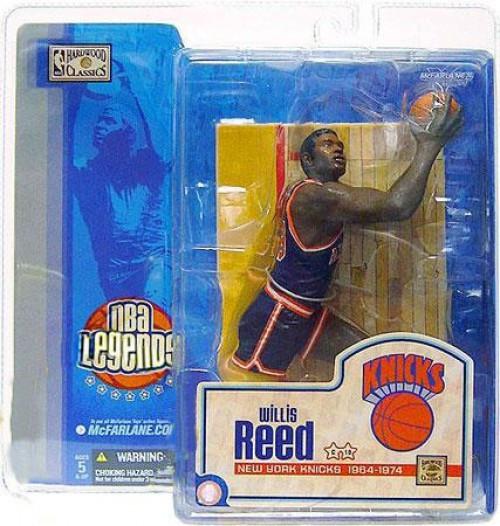 McFarlane Toys NBA New York Knicks Sports Picks Legends Series 1 Willis Reed Action Figure [Blue Jersey Varian]