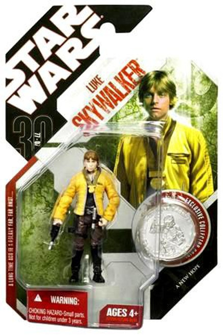Star Wars A New Hope 30th Anniversary 2007 Wave 2 Luke Skywalker Action Figure #12 [Yavin Ceremony]