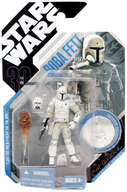 Star Wars Expanded Universe 2007 30th Anniversary Wave 2 Boba Fett Action Figure #15 [McQuarrie Concept]