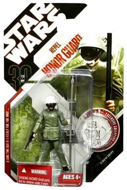 Star Wars A New Hope 30th Anniversary 2007 Wave 2 Rebel Sentry Honor Guard Action Figure #10