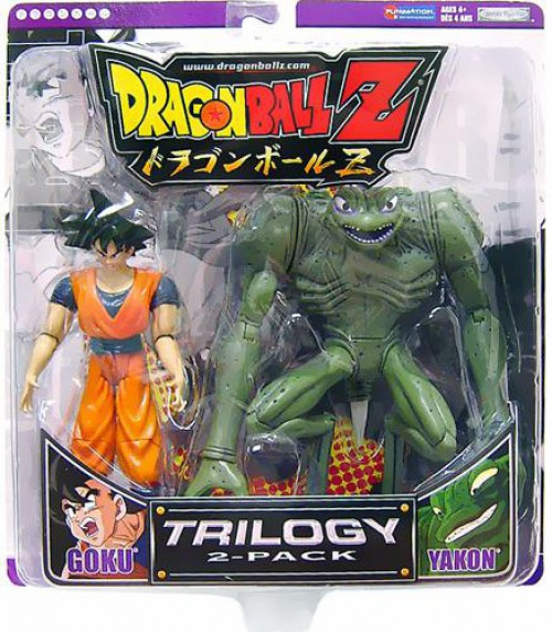 Dragon Ball Z Trilogy Goku & Yakon Action Figure 2-Pack