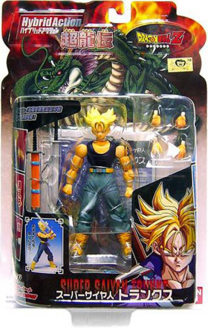 Dragon Ball Z Hybrid Super Saiyan Trunks Action Figure