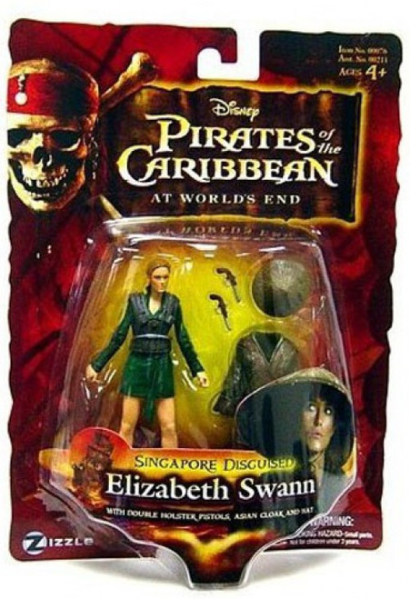 Pirates of the Caribbean At World's End Series 3 Elizabeth Swann Action Figure [Singapore Disguised]