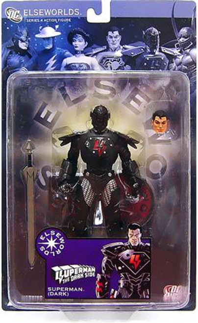 DC Elseworlds Series 4 The Dark Side Superman Action Figure [Dark]