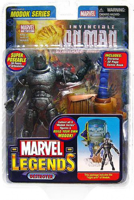 Marvel Legends Series 15 M.O.D.O.K. Destroyer Action Figure [Iron Man Variant]