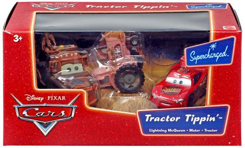 Disney / Pixar Cars Supercharged Tractor Tippin' Diecast Car Set