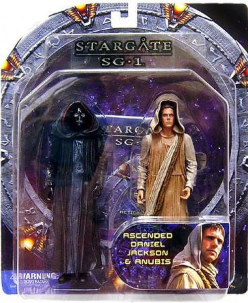 Stargate SG-1 Ascended Daniel Jackson & Anubis Exclusive Action Figure 2-Pack