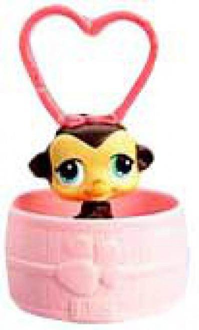 Littlest Pet Shop McDonald's Monkey Figure #1 [RANDOM Color]