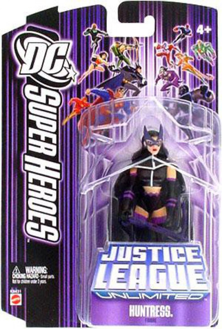 DC Justice League Unlimited Super Heroes Huntress Action Figure