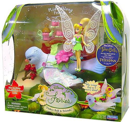 Disney Fairies Tinker Bell & Friends Ride-Along Friend Tinker Bell & Brother Dove Action Figure Set